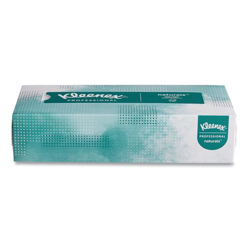 Naturals Facial Tissue, 2-Ply, White, 125 Sheets/Box. Picture 2