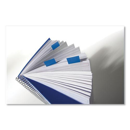 """1"""" Flags Value Pack, Blue, 50 Flags/Dispenser, 24 Dispensers/Pack. Picture 3"""