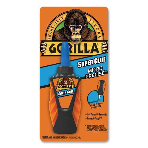 Super Glue Micro Precise, 0.19 oz, Dries Clear, 4/Carton. Picture 1
