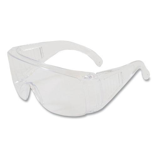 The Scout Polycarbonate Safety Glasses, Clear Lens. Picture 1