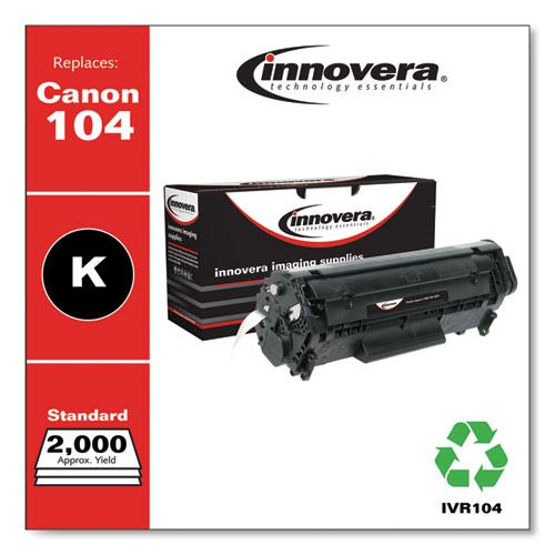 Remanufactured Black Toner, Replacement for Canon 104 (0263B001AA), 2,000 Page-Yield. Picture 2