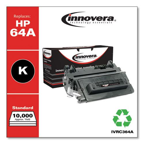 Remanufactured Black Toner, Replacement for HP 64A (CC364A), 10,000 Page-Yield. Picture 2