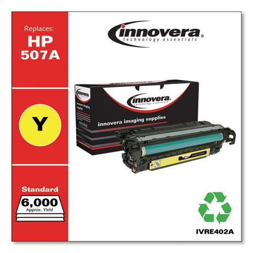 Remanufactured Yellow Toner, Replacement for HP 507A (CE402A), 6,000 Page-Yield. Picture 1