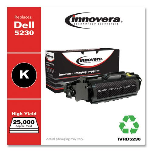 Remanufactured Black Toner, Replacement for Dell 5230 (330-6958), 21,000 Page-Yield. Picture 2