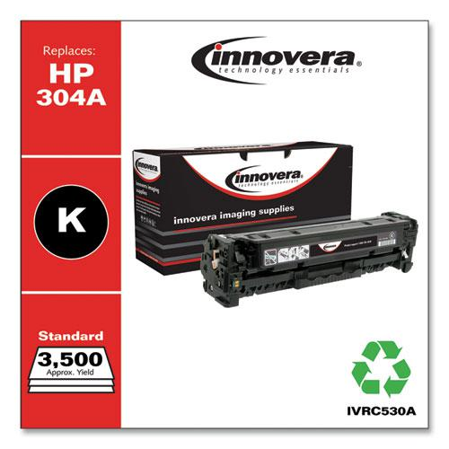 Remanufactured Black Toner, Replacement for HP 304A (CC530A), 3,500 Page-Yield. Picture 1