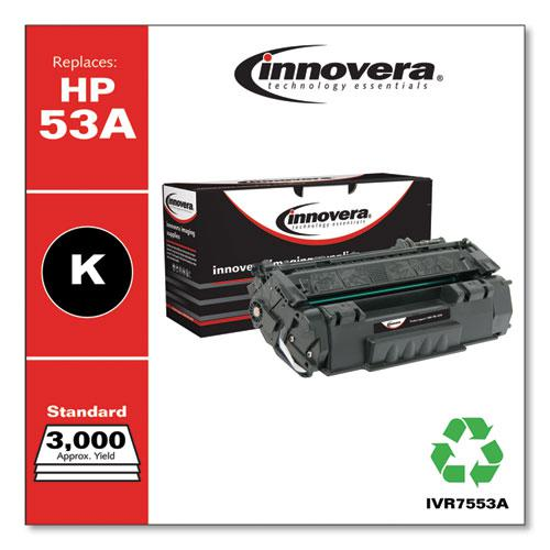 Remanufactured Black Toner, Replacement for HP 53A (Q7553A), 3,000 Page-Yield. Picture 2