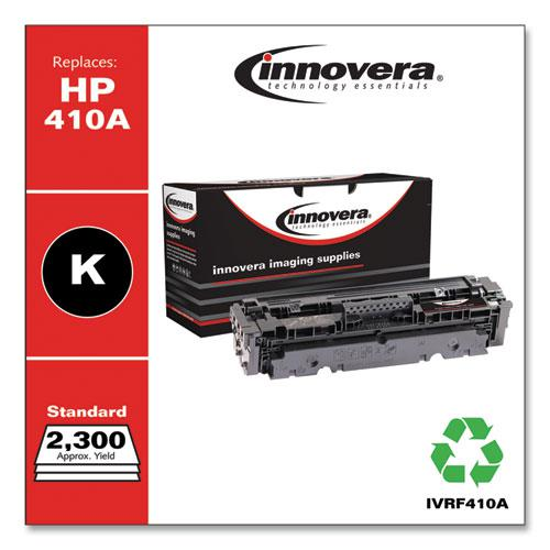 Remanufactured Black Toner, Replacement for HP 410A (CF410A), 2,300 Page-Yield. Picture 1