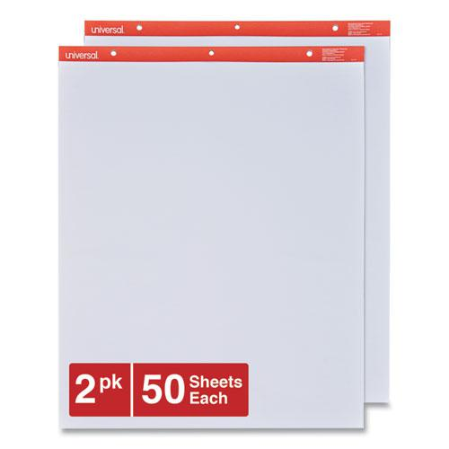 Easel Pads/Flip Charts, 27 x 34, White, 50 Sheets, 2/Carton. Picture 1