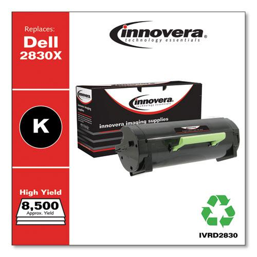 Remanufactured Black High-Yield Toner, Replacement for Dell S2830 (593-BBYO), 8,500 Page-Yield. Picture 2