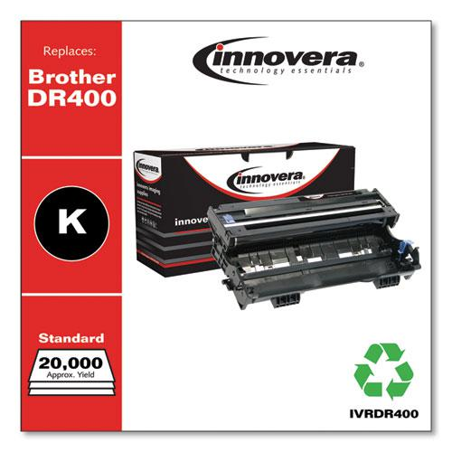 Remanufactured Black Drum Unit, Replacement for Brother DR400, 20,000 Page-Yield. Picture 1