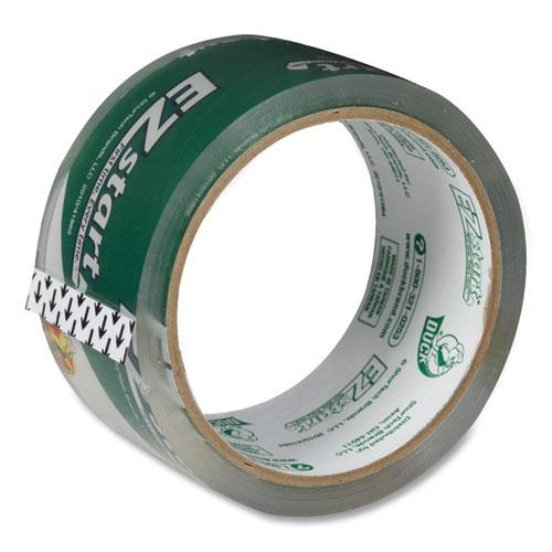 """EZ Start Premium Packaging Tape, 3"""" Core, (2) 1.88"""" x 60 yds, (1) 1.88"""" x 30 yds, Clear, 3/Pack. Picture 4"""