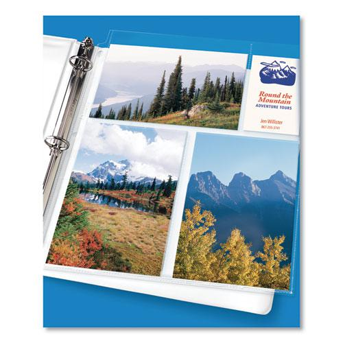 Photo Storage Pages for Six 4 x 6 Mixed Format Photos, 3-Hole Punched, 10/Pack. Picture 5