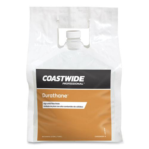 Durathane High-Solids Floor Finish, Unscented, 2.5 gal Bag, 2/Carton. Picture 1