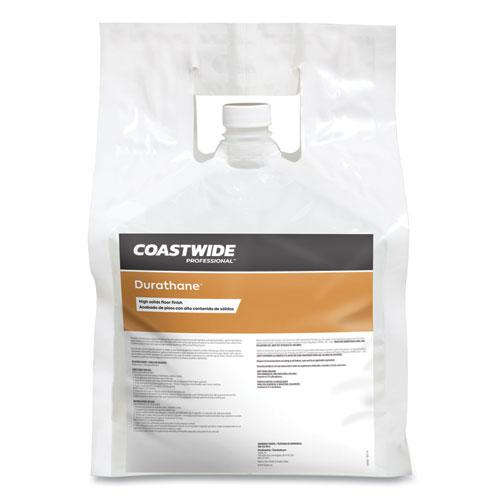Durathane High-Solids Floor Finish, Unscented, 2.5 gal Bag, 2/Carton. Picture 2