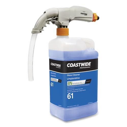 Washroom Cleaner 70 Eco-ID Concentrate for ExpressMix Systems, Fresh Citrus Scent, 110 oz Bottle, 2/Carton. Picture 5