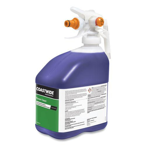 Power Clean Heavy-Duty Cleaner-Degreaser Concentrate for EasyConnect Systems, Grape Scent, 101 oz Bottle, 2/Carton. Picture 4