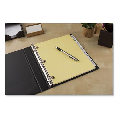 Insertable Big Tab Dividers, 5-Tab, Letter. Picture 2