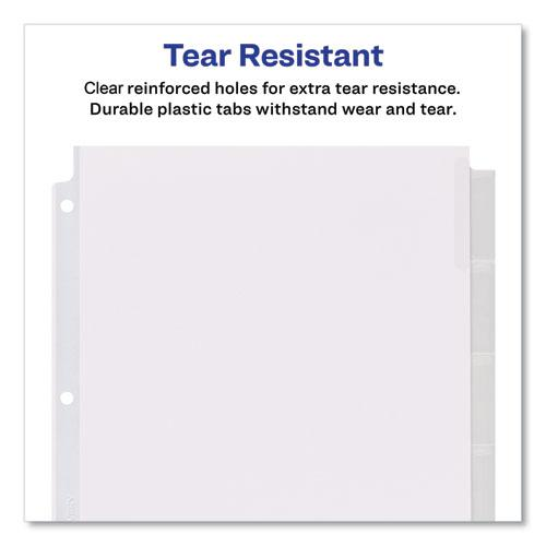 Insertable Big Tab Dividers, 8-Tab, 11 1/8 x 9 1/4. Picture 7