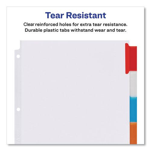 Insertable Big Tab Dividers, 8-Tab, 11 1/8 x 9 1/4. Picture 6