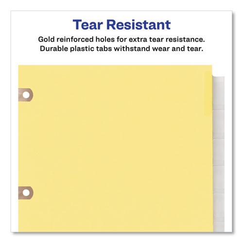 Insertable Big Tab Dividers, 5-Tab, Letter. Picture 6