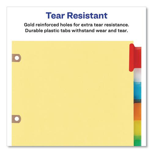 Insertable Big Tab Dividers, 8-Tab, Letter. Picture 5