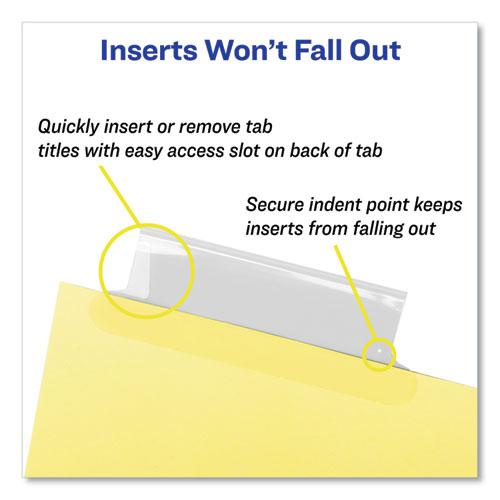 Insertable Standard Tab Dividers, 5-Tab, 8.5 x 5 1/2. Picture 7