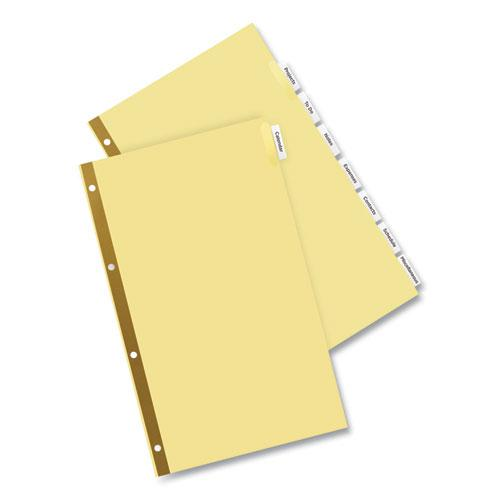 Insertable Standard Tab Dividers, 8-Tab, Legal. Picture 7