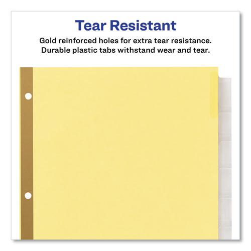 Insertable Big Tab Dividers, 8-Tab, Letter. Picture 8