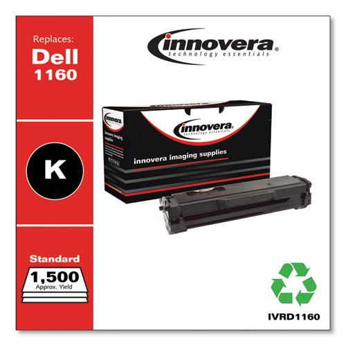 Remanufactured Black Toner, Replacement for Dell B1160 (331-7335), 1,500 Page-Yield. Picture 2