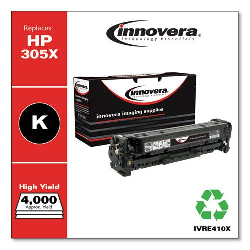 Remanufactured Black High-Yield Toner, Replacement for HP 305X (CE410X), 4,000 Page-Yield. Picture 1