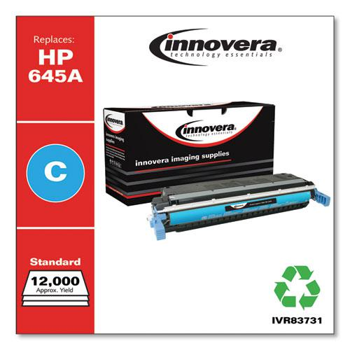 Remanufactured Cyan Toner, Replacement for HP 645A (C9731A), 12,000 Page-Yield. Picture 2
