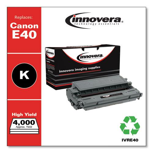 Remanufactured Black High-Yield Toner, Replacement for Canon E40 (1491A002AA), 4,000 Page-Yield. Picture 1