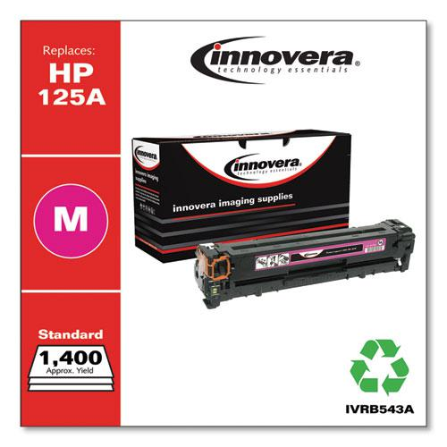 Remanufactured Magenta Toner, Replacement for HP 125A (CB543A), 1,400 Page-Yield. Picture 1