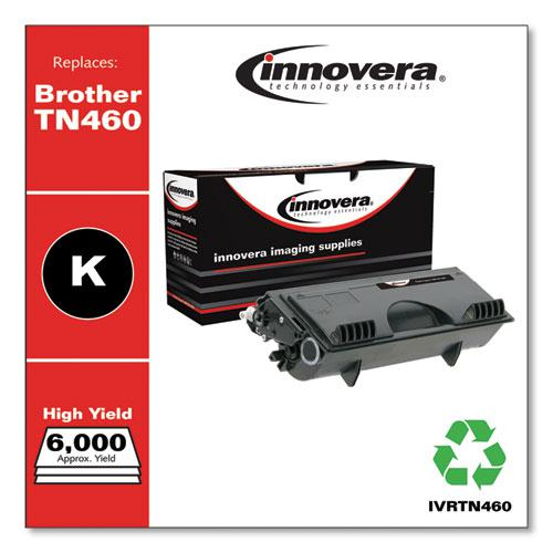 Remanufactured Black High-Yield Toner, Replacement for Brother TN460, 6,000 Page-Yield. Picture 2