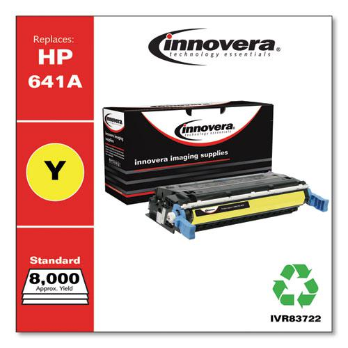 Remanufactured Yellow Toner, Replacement for HP 641A (C9722A), 8,000 Page-Yield. Picture 2