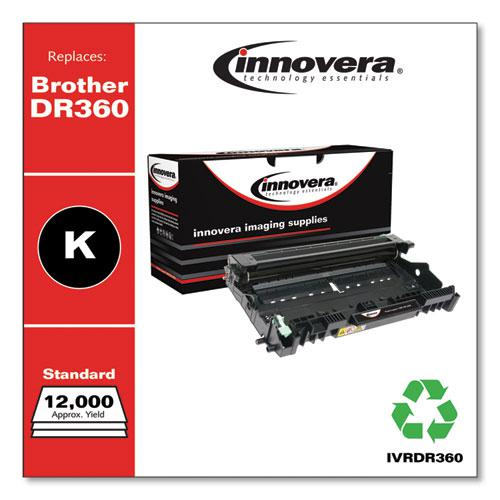 Remanufactured Black Drum Unit, Replacement for Brother DR360, 12,000 Page-Yield. Picture 2