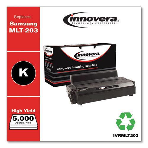 Remanufactured Black Toner, Replacement for Samsung MLT-D203L, 5,000 Page-Yield. Picture 1