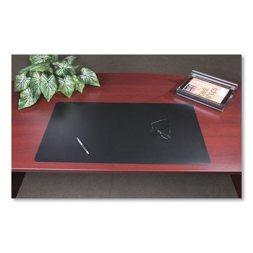 Rhinolin II Desk Pad with Antimicrobial Product Protection, 17 x 12, Black. Picture 5