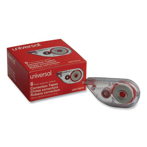 """Side-Application Correction Tape, 1/5"""" x 393"""", 6/Pack. Picture 1"""