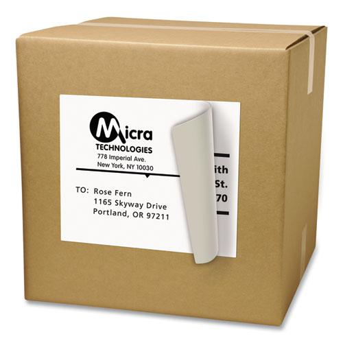 Shipping Labels with TrueBlock Technology, Laser Printers, 8.5 x 11, White, 100/Box. Picture 7