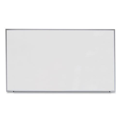 Dry Erase Board, Melamine, 72 x 48, Satin-Finished Aluminum Frame. Picture 1