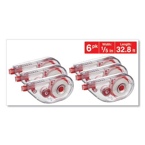 """Side-Application Correction Tape, 1/5"""" x 393"""", 6/Pack. Picture 4"""