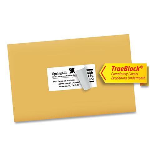 Shipping Labels w/ TrueBlock Technology, Inkjet Printers, 2 x 4, White, 10/Sheet, 100 Sheets/Box. Picture 7