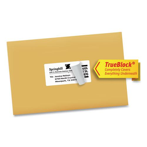 Shipping Labels w/ TrueBlock Technology, Inkjet Printers, 2 x 4, White, 10/Sheet, 25 Sheets/Pack. Picture 7