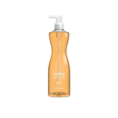 Dish Soap, Clementine, 18 oz Pump Bottle. Picture 1