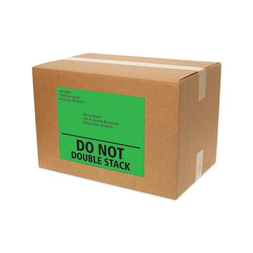 High-Visibility Permanent Laser ID Labels, 8.5 x 11, Asst. Neon, 15/Pack. Picture 7