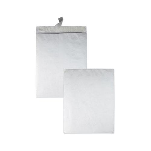 Catalog Mailers Made of DuPont Tyvek, Square Flap, Redi-Strip Closure, 18 x 23, White, 25/Box. Picture 1