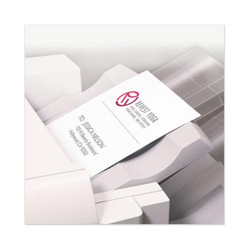 Copier Mailing Labels, Copiers, 8.5 x 11, White, 100/Box. Picture 4