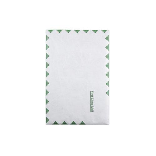 First Class Catalog Mailers, DuPont Tyvek, #15, Square Flap, Redi-Strip Closure, 10 x 15, White, 100/Box. Picture 1