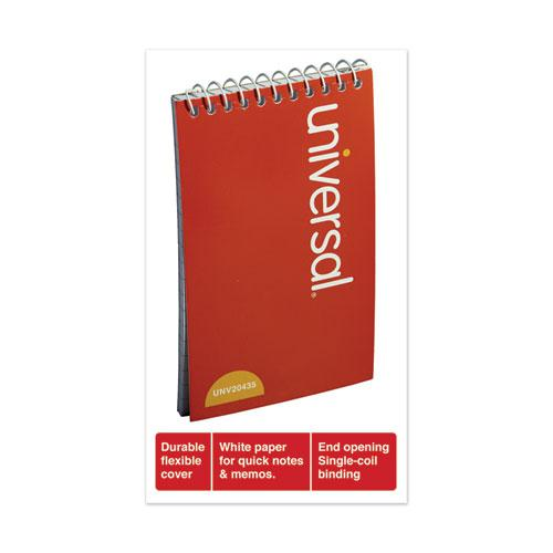 Wirebound Memo Book, Narrow Rule, 3 x 5, White, 50 Sheets, 12/Pack. Picture 3